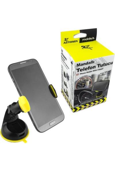 Automix Mandallı Telefon Ve Navigasyon Tutucu