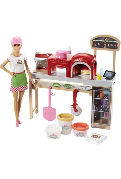 Barbie Pizza Yapıyor Oyun Seti