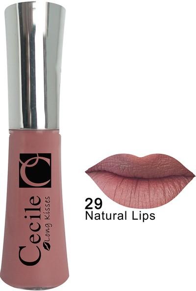 Cecile Kalıcı Mat Ruj / Long Kisses Lipgloss 29