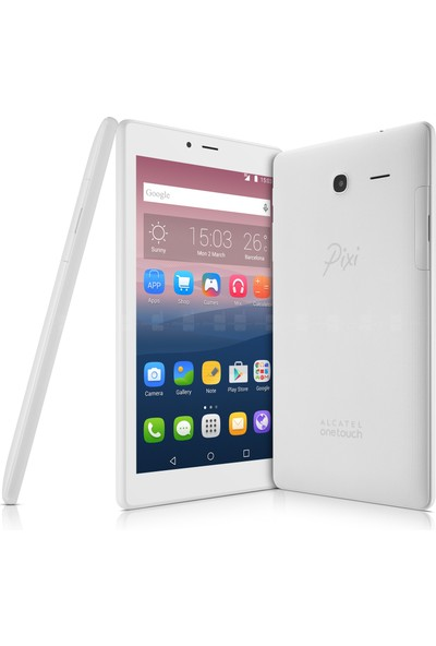 "Alcatel Pixi 4 8GB 7"" Tablet - Beyaz"