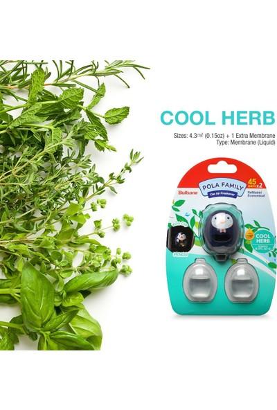 Bullsone 90 Güne Kadar Etkili Anti Alerjik Araç Kokusu (Cool Herb)