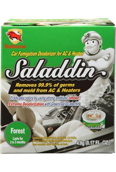 Bullsone Saladdin Hijyen Cini Klima Temizleyicisi (Orman Kokulu)