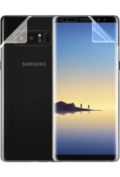 Microsonic Samsung Galaxy Note 8 Ön + Arka Kavisler Dahil Tam Ekran Kaplayıcı Film