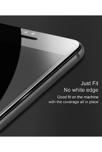 Microsonic Samsung Galaxy J3 Pro Tam Kaplayan Temperli Cam Ekran Koruyucu Beyaz