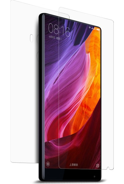 Microsonic Xiaomi Mi Mix Ön + Arka Nano Cam Ekran Koruyucu