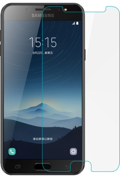 Microsonic Samsung Galaxy C8 Nano Cam Ekran Koruyucu