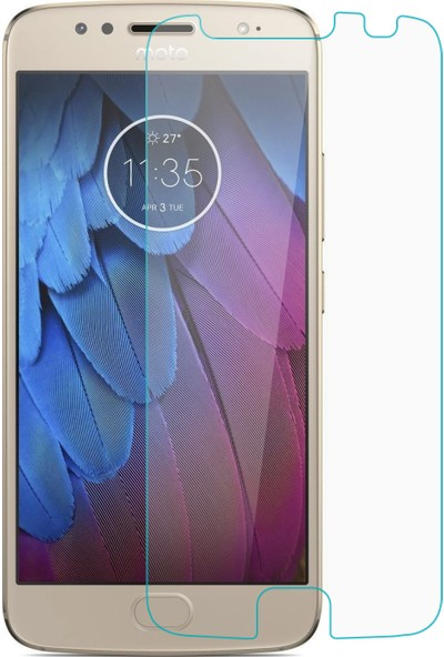 Microsonic Motorola Moto G5S Plus Temperli Cam Ekran Koruyucu