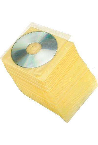 Torima CD-DVD Zarfları Çift Yönlü 100Lü Paket Sarı