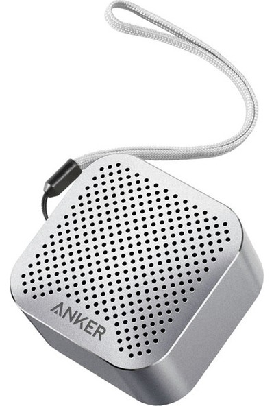 Anker SoundCore Nano Bluetooth Hoparlör Gümüş Gri - A3104H43