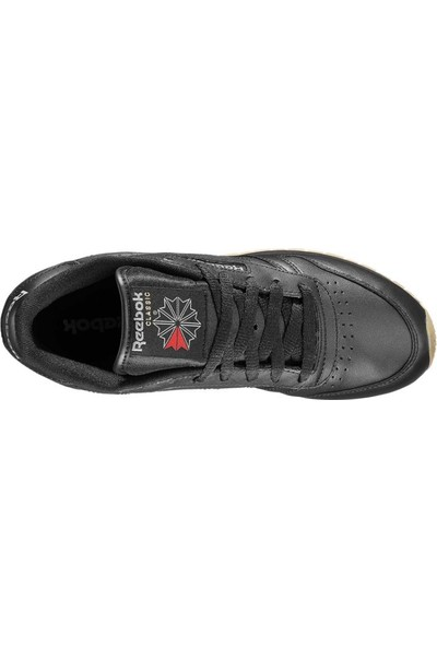 Reebok Siyah Kadın Koşu Ayakkabısı R49804 Classic Leather