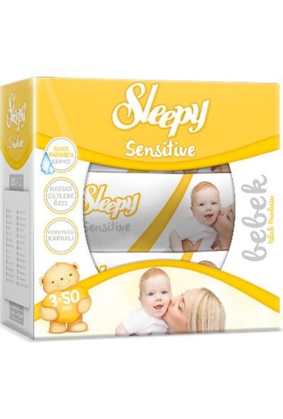 Sleepy Sensetive Islak Havlu 3X50