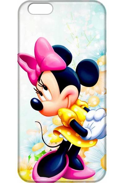 Svart Case Apple iPhone 6/6S Silikon Baskılı Arka Kapak
