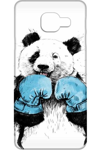 Svart Case Samsung Galaxy A7 2016 Silikon Baskılı Arka Kapak