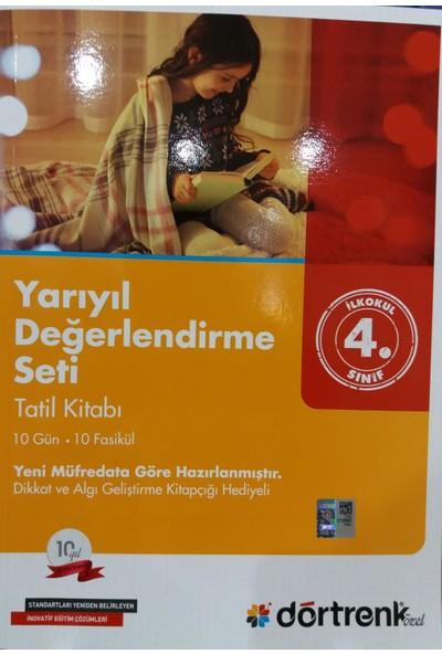 Dörtrenk Yayınları 4. Sınıf Yarıyıl Tatil Kitabı