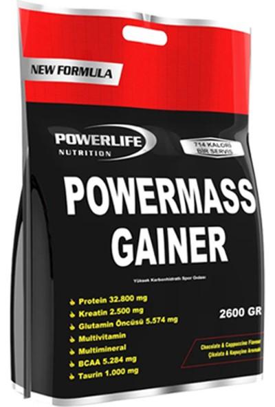 Powerlife Mass Gainer 2600 Gr (Çikolata-Kapuçino)