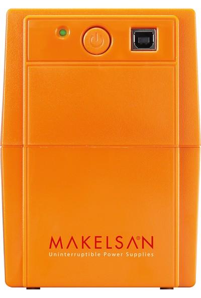 Makelsan Lion+ 650 VA USB (1x 7AH) 5-10dk UPS MU00650L11PL005
