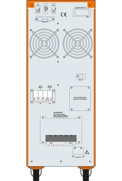 Makelsan P.Pack SE 10 KVA (20x 9AH) 5-10dk (1F/1F) Online UPS MU10000N11EAV01
