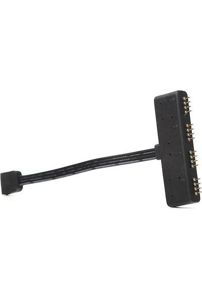 Akasa RGB LED 1x4 Çoklayıcı Kablo (AK-CBLD02-10BK)
