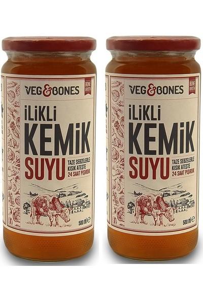 Veg&Bones İlikli Kemik Suyu 500 ml - 2'li