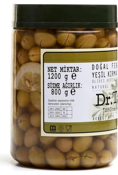Dr.Tan Doğal Fermente Yeşil Kırma Zeytin 800 Gr.