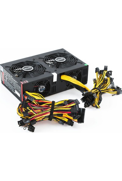 Afox AFMPS-3300A1 3300W Mining 20+4 pin Power Supply