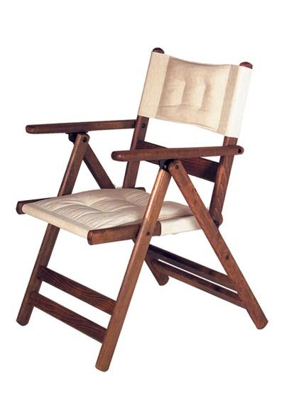 Bahçeci Atina Minderli Katlanır Sandalye