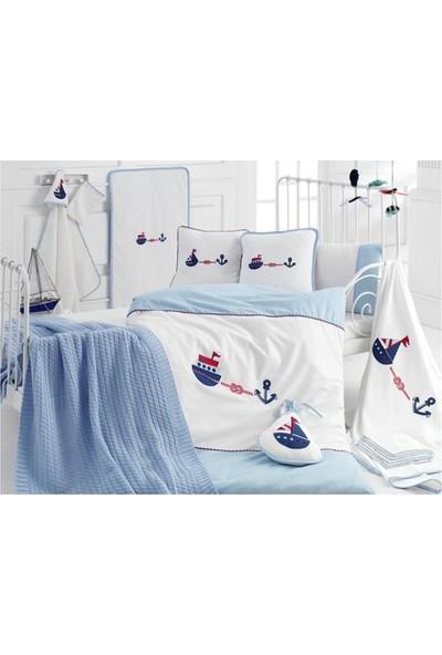 İrya Home MARINE 16 Parça Bebek Seti Mavi 16 Parça Bebek Seti