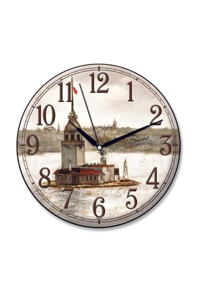 Time Gold Sera Duvar Saati-30cm