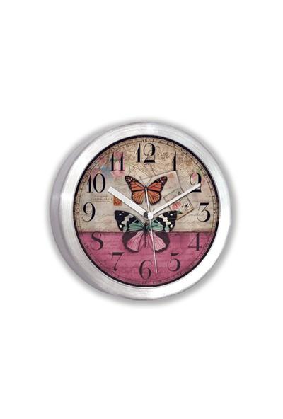 Time Gold Alüminyum Mıknatıslı Buzdolabı Saati-11cm