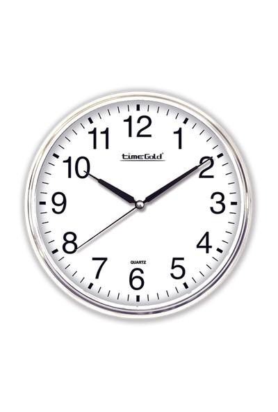 Time Gold İris Duvar Saati-39cm
