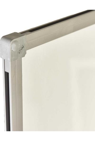 Evreka 90x120 Duvara Monte Beyaz Yazı Tahtası+Kalem+Silgi