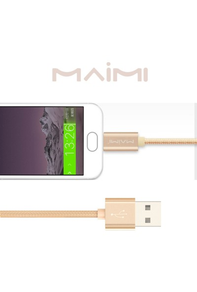 Maimi Android Data Şarj Kablosu-1M