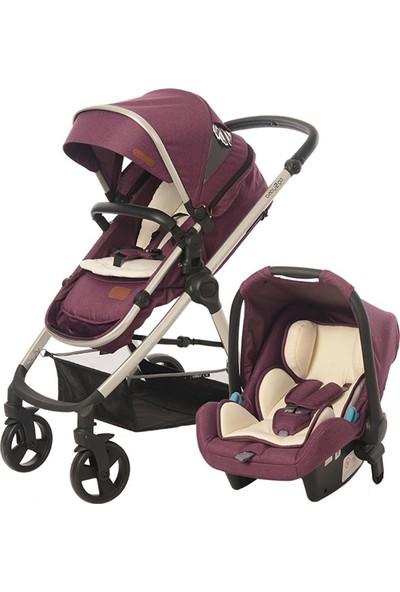 Baby2Go 8050 Viber Lx Travel Sistem Bebek Arabası Mor