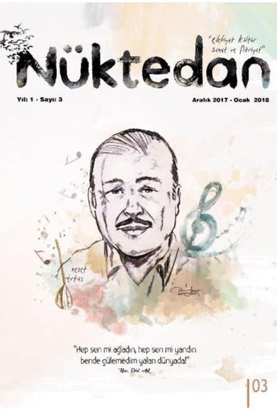 Nüktedan Dergisi Sayı: 3 Aralık 2017 Ocak 2018