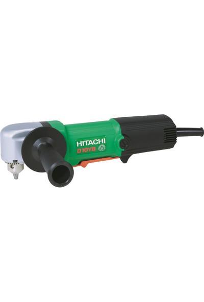 Hitachi D10YB 500Watt 10mm Profesyonel Dik Açılı Darbesiz Matkap