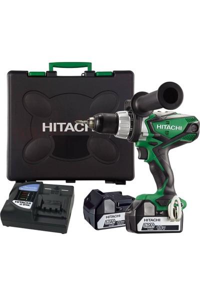 Hitachi DS18DSDL 18Volt/5.0Ah Li-ion Çift Akülü Profesyonel Vidalama