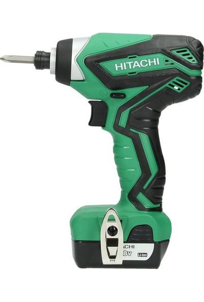 Hitachi WH10DAL 10.8Volt/1.5Ah Li-ion Çift Akülü Profesyonel Darbeli Tornavida
