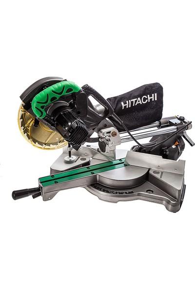Hitachi C8FSE 1050Watt 216mm Profesyonel Sağ/Sol Zıvanalı ve Raylı Gönye Testere