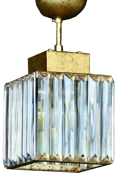 Cenova 15 lik Mat Altın Renkli Avize