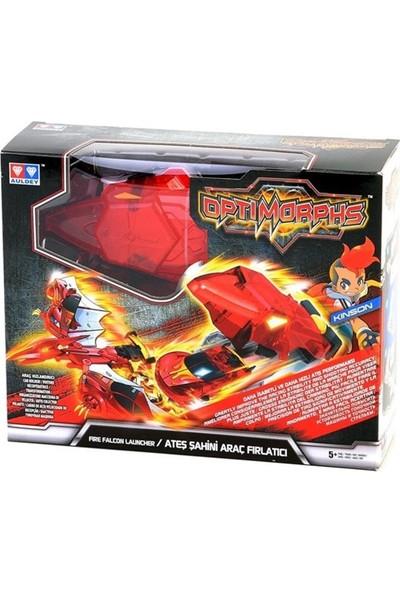 Optimorphs Ateş Şahini Araç Fırlatıcı Kırmızı