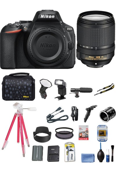 Nikon D5600 + 18-140mm F3.5-5.6G ED