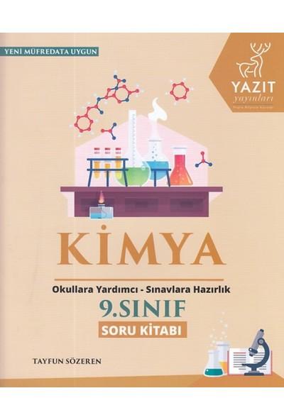 Yazıt 9. Sınıf Kimya Soru Kitabı