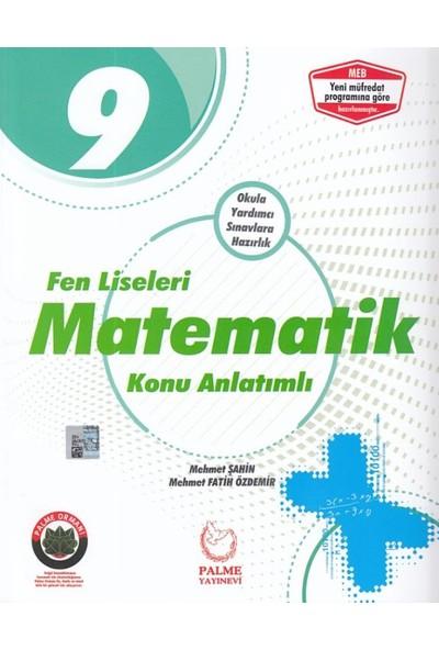 Palme 9. Sınıf Fen Liseleri İçin Matematik Konu Anlatımlı