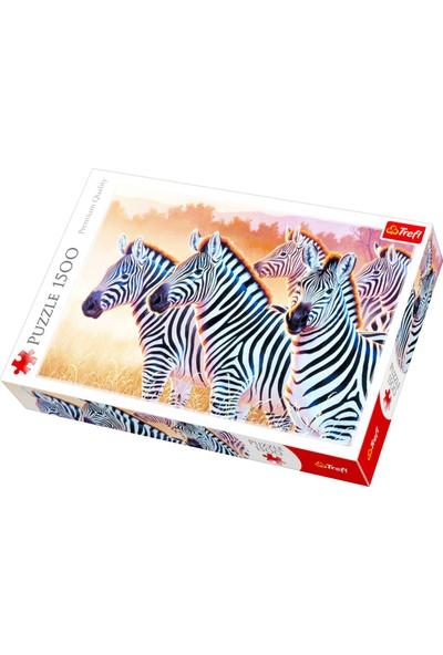 Trefl 1500 Zebras