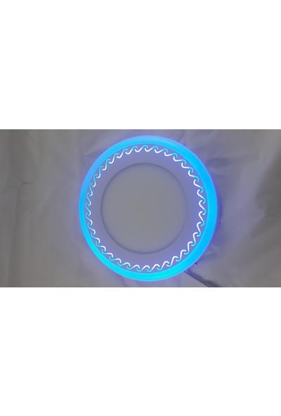 Odalight 16W Sıva Üstü Çift Renk Panel Led Mavi Beyaz