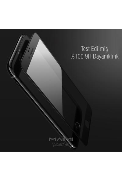 Maimi Apple iPhone 7 Plus - 7S 4D Plus Temperli Koruma Camı Siyah