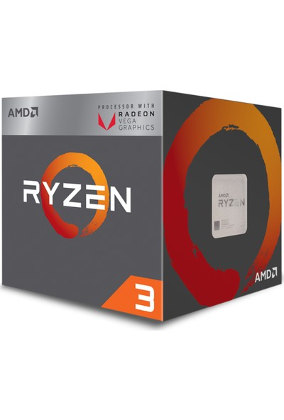 AMD Ryzen 3 2200G 3.5Hz Socket AM4+65W İşlemci