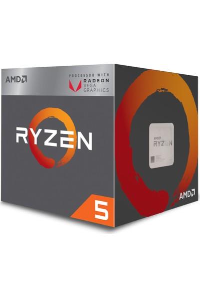 AMD Ryzen 5 2400G 3.5Hz Socekt AM4+65W İşlemci