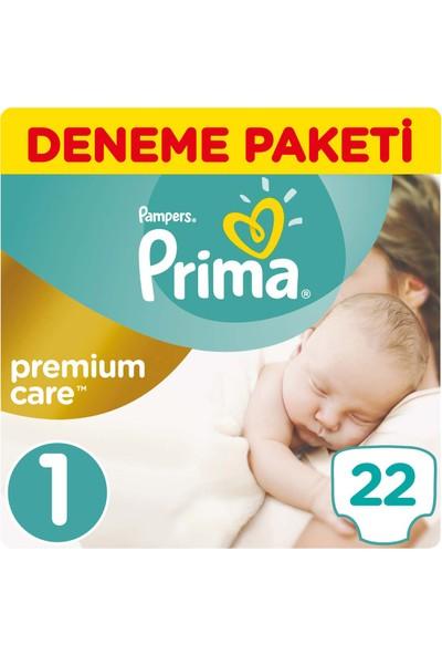 Prima Bebek Bezi Premium Care 1 Beden Yenidoğan Tekli Paket 22 Adet