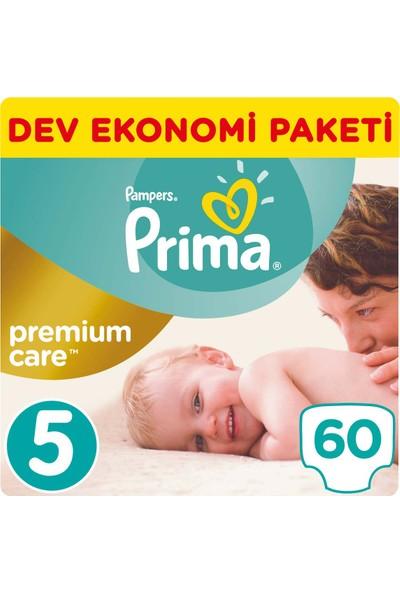 Prima Bebek Bezi Premium Care 5 Beden Junior Dev Ekonomi Paketi 60 Adet